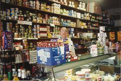 Charles Ironside in the Supply Stores c1980s